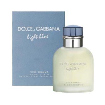 Dolce & Gabbana - Light Blue edt 200ml (férfi parfüm)